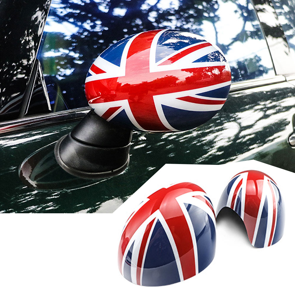 1 Pair Door Side Wing Mirror Cover For Mini Clubman Countryman Cooper R55 R56 R57 R58 R59 R60 R61 Car styling