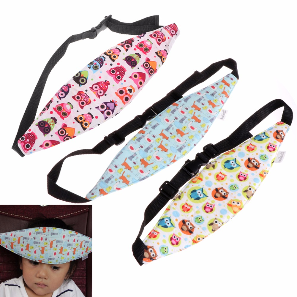 Safety Baby Kids Stroller Car Seat Sleep Nap Aid Head Fasten Support Holder Belt Safety Accessories Baby Care