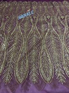 Image 4 - ในการขายแอฟริกันลูกไม้ผ้าสุทธิฝรั่งเศสJIANXI.C 11867สำหรับการแต่งกายของบุคคลที่ที่มีกาวg litterเลื่อมลูกไม้ผ้า