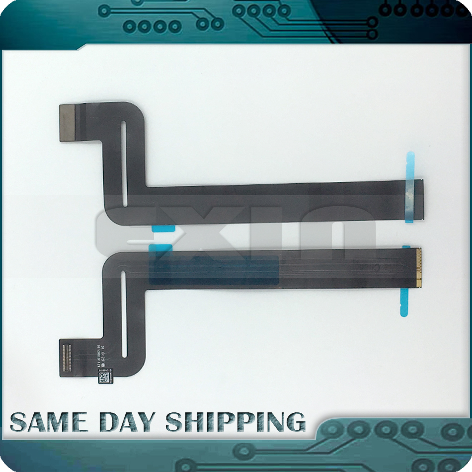 Original New A1708 Trackpad Cable 821-01002-01 for Macbook Pro Retina 13 Full Function Keys A1708 Touchpad 2016 2017 Year original a1706 a1708 lcd back cover for macbook pro13 2016 a1706 a1708 laptop replacement