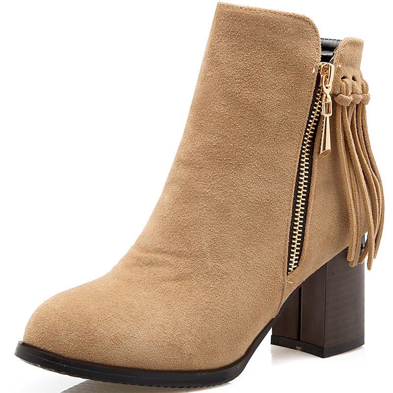 Compare Prices on Black Tassel Ankle Boots- Online Shopping/Buy ...