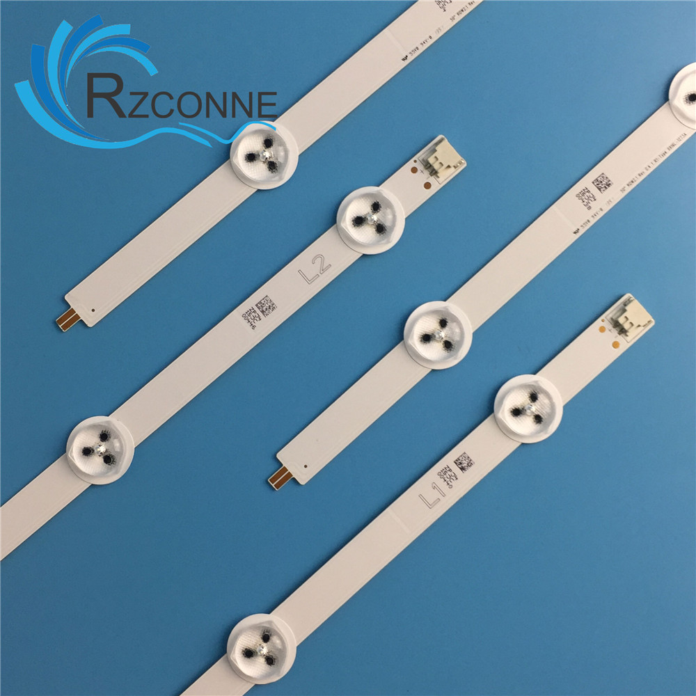 LED Strip For 50LN5200 50L1350U E500i-A0 50L4300U TC-L50B6B 50L4353D LC500DUE SF R2 U2 50LA620S 50LN570V 50LN5100 6637L-0021A
