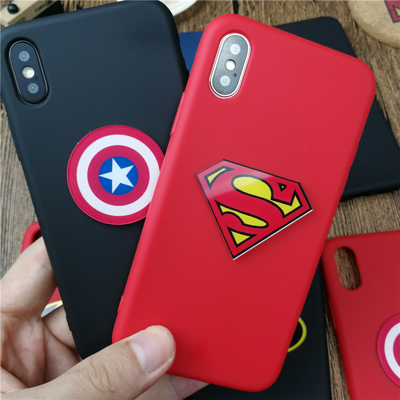 iphone x coque superman