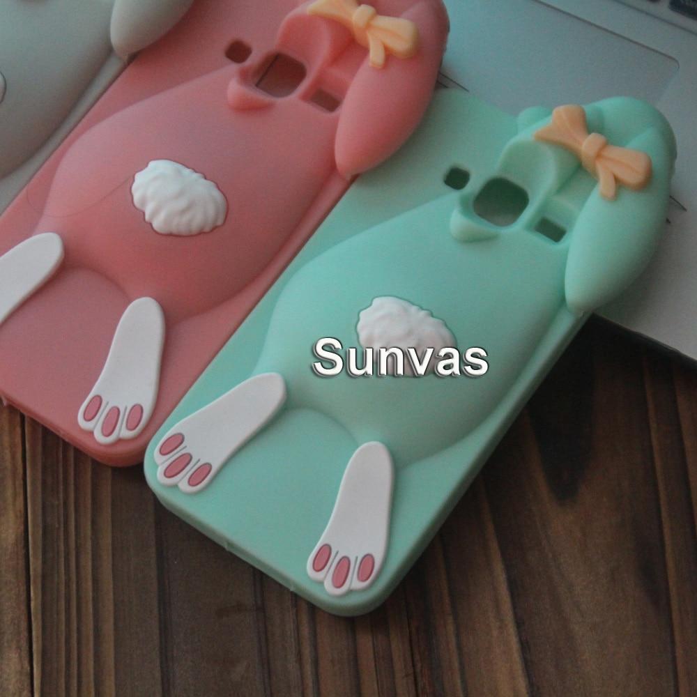 För Samsung J3 2015 Väska 3D Söt Cartoon Mjuk Silikon Väska För - Reservdelar och tillbehör för mobiltelefoner - Foto 3