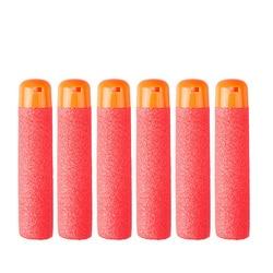 30 Pcs 9,5 cm Rot Sniper Gewehr Darts Kugeln für Nerf Mega Kinder Spielzeug Pistole Zubehör Schaum Refill Darts Große loch Kopf Kugeln Spielzeug