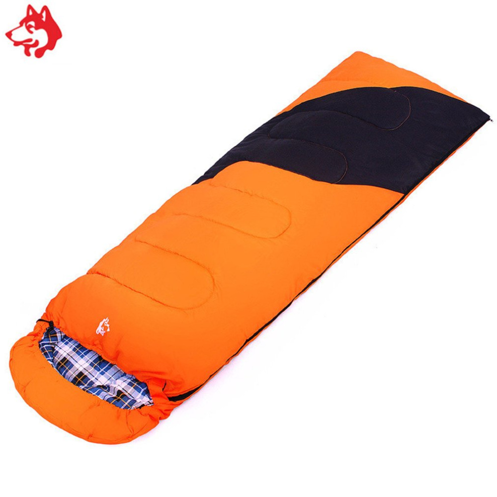 New Unique Envelope Shaped Sleeping Bag Camping Waterproof Taffeta Comfortable Warm Portable Soft Sleep Bed In Bags From Sports