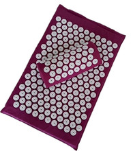 1 set Acupuncture Foot Massager Cushion Acupressure Massage Mat for Full Body Muscle Relax Foot Care Device