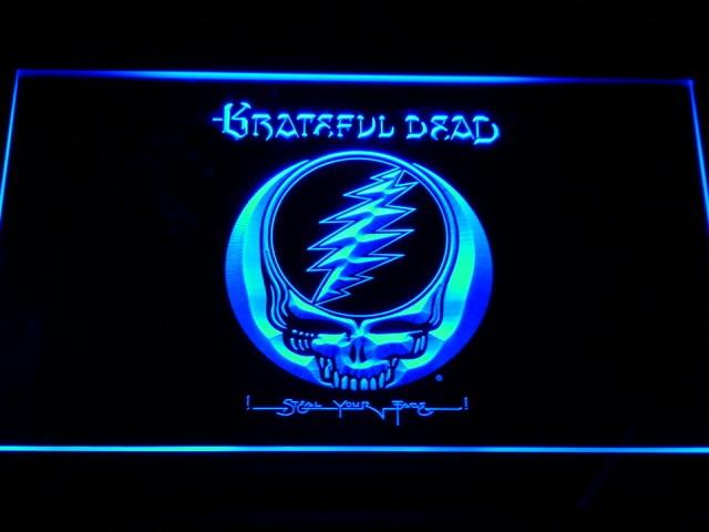 C144 Grateful Dead Neonzeichen