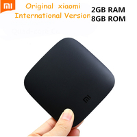 International Version Xiaomi Mi Box 3 Android 6 0 TV Box 2G 8G Dual WiFi Kodi