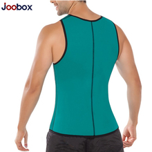 JOOBOX Plus size S-5XL Body shapewear for men Waist corset men Vest Top Neoprene waist trainer Slimming Underwear body shaper