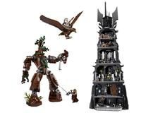 LEPIN 16010 Lord Of The Rings The Tower Of Orthanc Dumbledore Model Building Block 2430Pcs Bricks