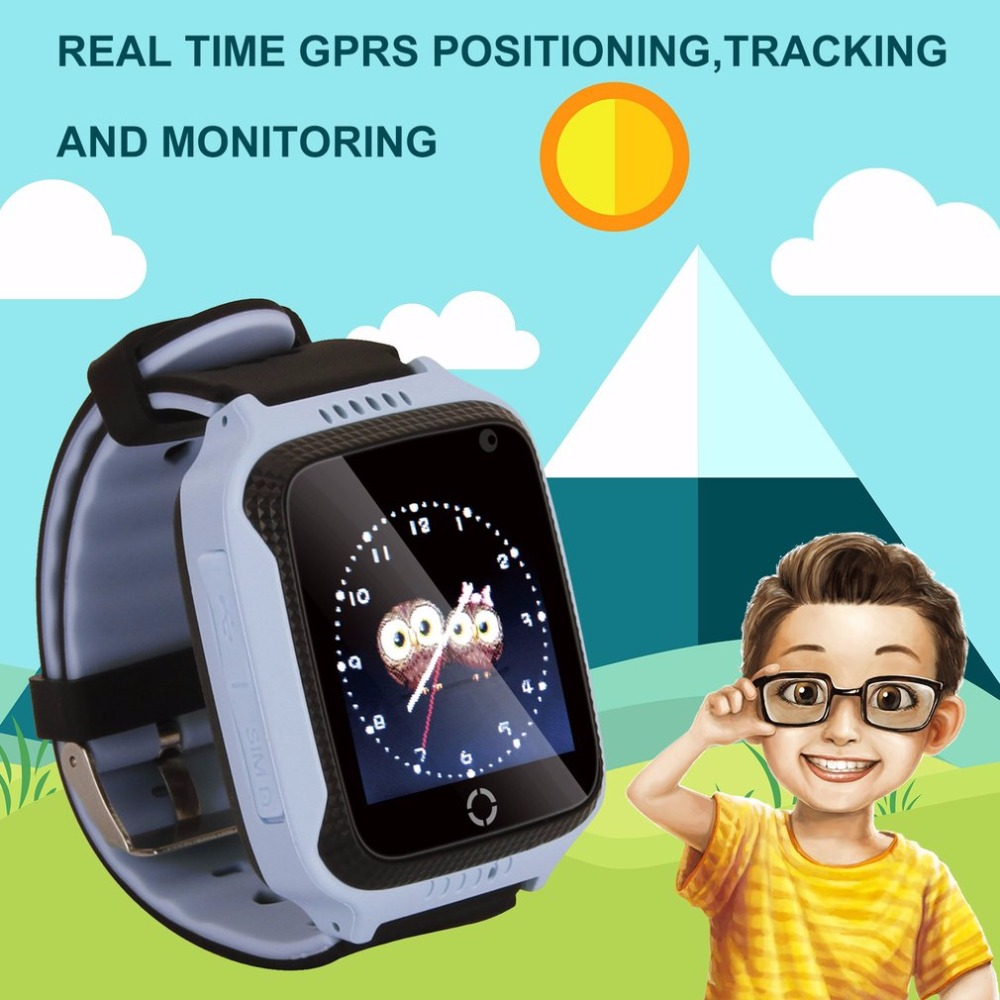 M05 Smart Watch สำหรับเด็กเด็ก GPS Watch สำหรับ Apple สำหรับโทรศัพท์ Android Smart Baby Watch Electronics มีให้เลือกสองสี
