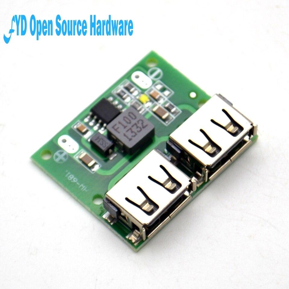 9V 12V 24V zu 5V DC-DC Schritt Unten Ladegerät Power Module Dual USB Ausgang Buck Spannung board 3A Auto Laden laden Regler 6-26V