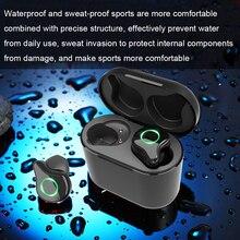 R5 TWS Wireless Earphones Bluetooth 50 Hifi 6D Surround Stereo Sound Earbuds Noise Reduction Mini Earphone Cordless Headset