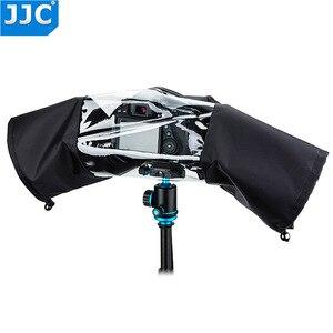 Image 2 - JJC Rain Cover Coat Dust Protector Case voor Nikon D7100 D5500 D5300 D5200 D3300 D90 voor Canon 750D 700D 650D 600D 550D Camera