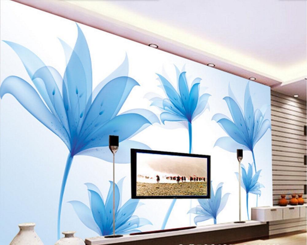 Custom Nature wallpaper,Fantasy Flowers,3D photo mural for living room bedroom TV backdrop waterproof papel de parede custom 3d photo wallpaper 3d stereoscopic green forest mural for living room bedroom tv backdrop waterproof papel de parede