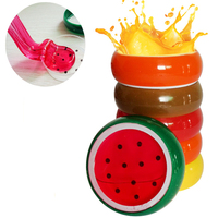 1Pc Kids Baby Funny Toys Crystal Fruit Magnetic Colored Clay Mud Intelligent Hand Gum Slime Plasticine