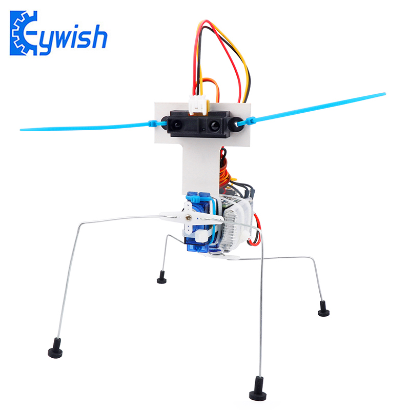 Keywish Insect Robot Kit with Tutorial for Arduino Nano V3.0 Learn Arduino Starter Kit SG90 Servo Motor Nano Controller Board цена 2017