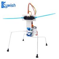 Keywish Insect Robot Kit with Tutorial for Arduino Nano V3.0 Learn Arduino Starter Kit SG90 Servo Motor Nano Controller Board