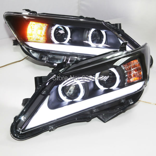 2012 Camry LED Head Lamps Angel Eyes ZM Type 2012