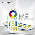 Freeshipping  RGB+CCT Remote controller 2 in 1 Full touch 4-zone group control for Milight RGB+CCT led bulb series