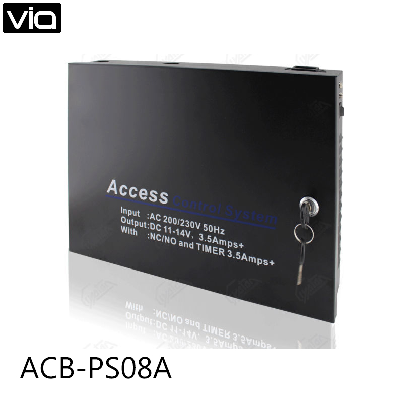 ACB-PS08A Direct Factory Backup battery Access Power supply Dual +12V output цена 2017