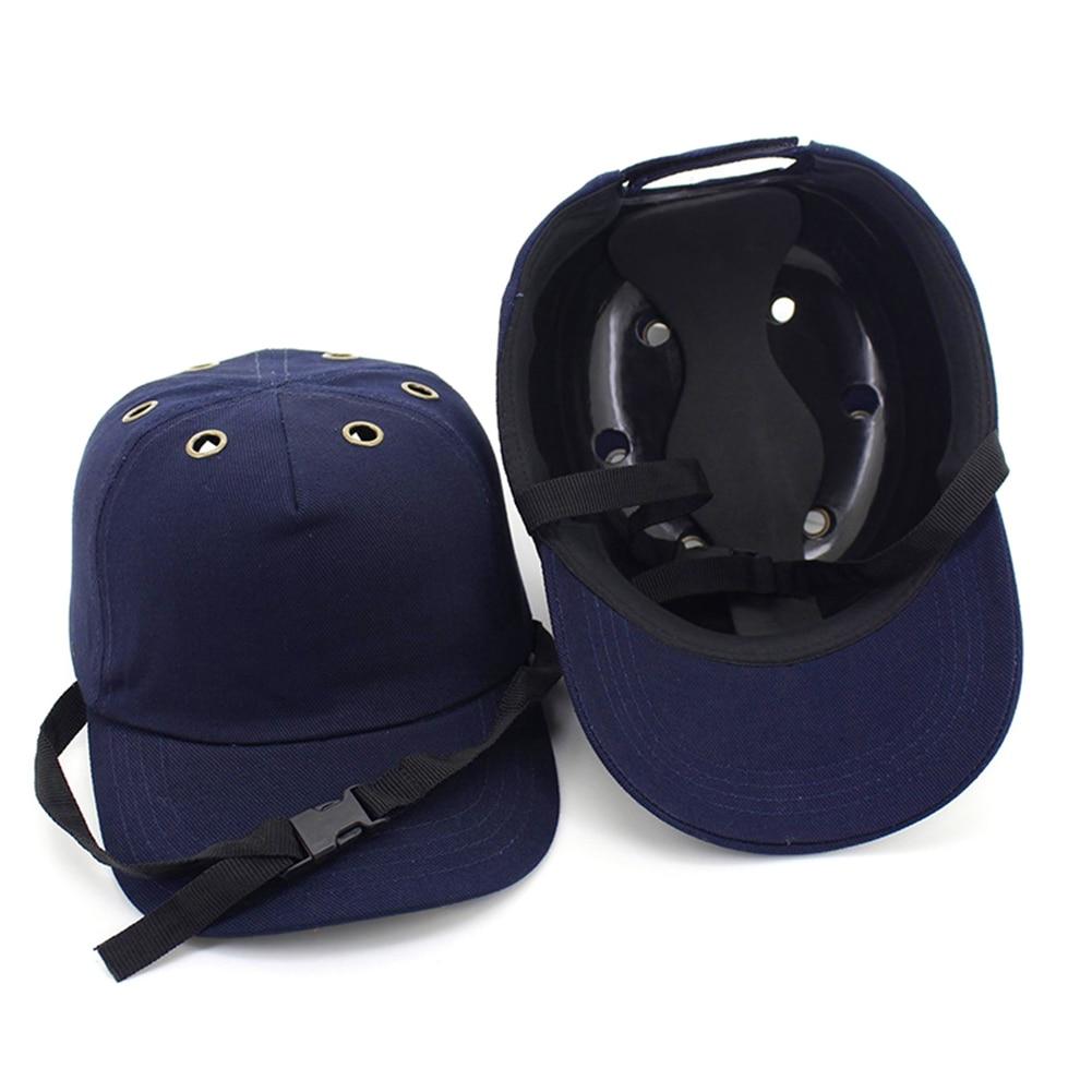 2019 New Safety Bump Cap Helmet Tennis Cap Baseball Hat