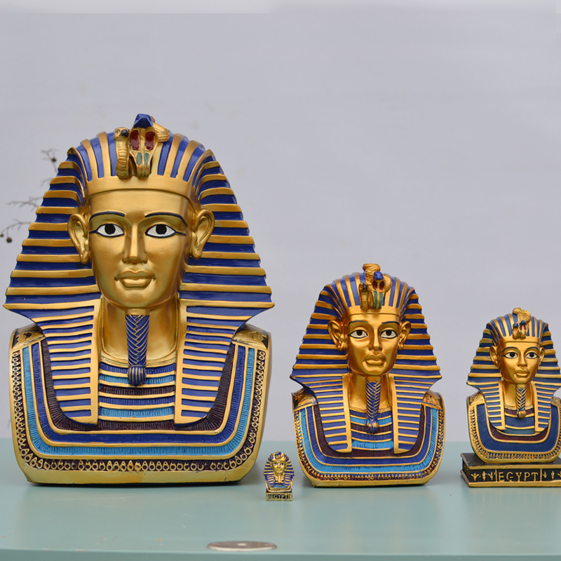 The Exotic Pharaoh Of Egypt Ornaments Arts And Crafts Creative Home Furnishing Figure Sculpture Figurine Decoration Statue