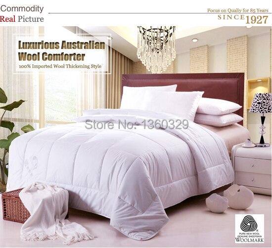 200*230cm blazer Wool Blanket Winter Quilt edredon casal Queen Size Duvet Patchwork Bedspread set edredom Quilted Comforter zara