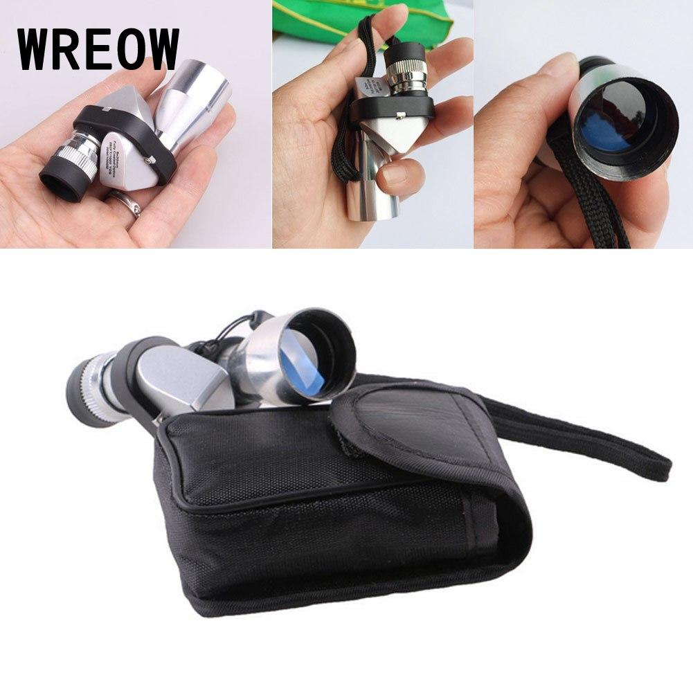 Pocket Mini Pocket 8x20 HD Corner Optical Monocular Telescope Eyepiece For Scientific Wilderness Expedition Outdoor Sport Hik D9