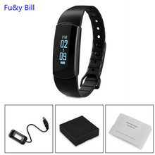 The new fashion SH07 Bluetooth touch screen smart smart Bracelet health monitoring step motion smart Bracelet