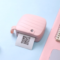 2018 New Mini Pocket thermal Printer wireless bluetooth Miniature printer Message Cartoon Pictures printer portable printer