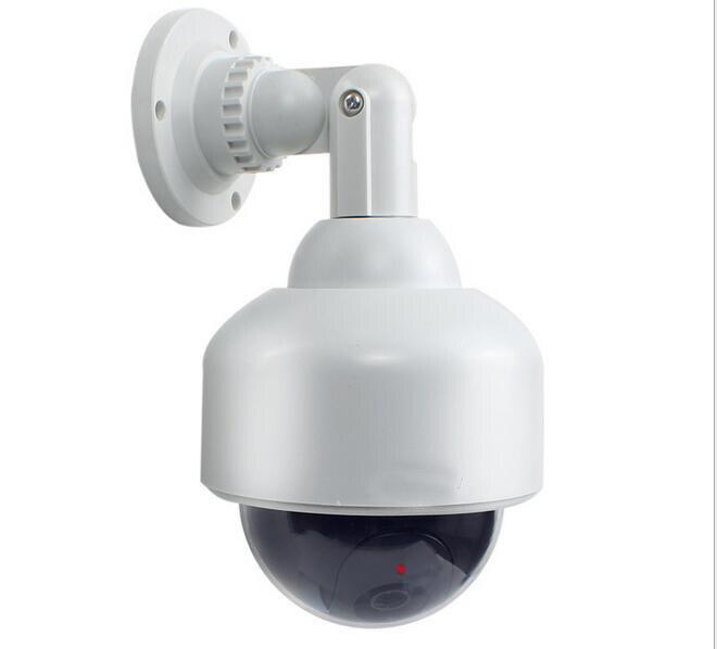 imágenes para Flash LED Parpadeante Falsos Dummy PTZ domo de vigilancia video de la falsificación de Vigilancia cámara Simulada del CCTV del hogar Seguridad camaras