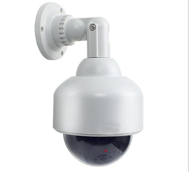 bilder für Überwachung PTZ Dummy-Blinkt FÜHRTE Gefälschte Speed dome kamera hause Cctv Simulierte videoüberwachung gefälschte camaras