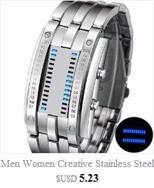 Cool Men's Oversized Design Light Digital Sports Plan Shaped Dial Wrist Watches 1