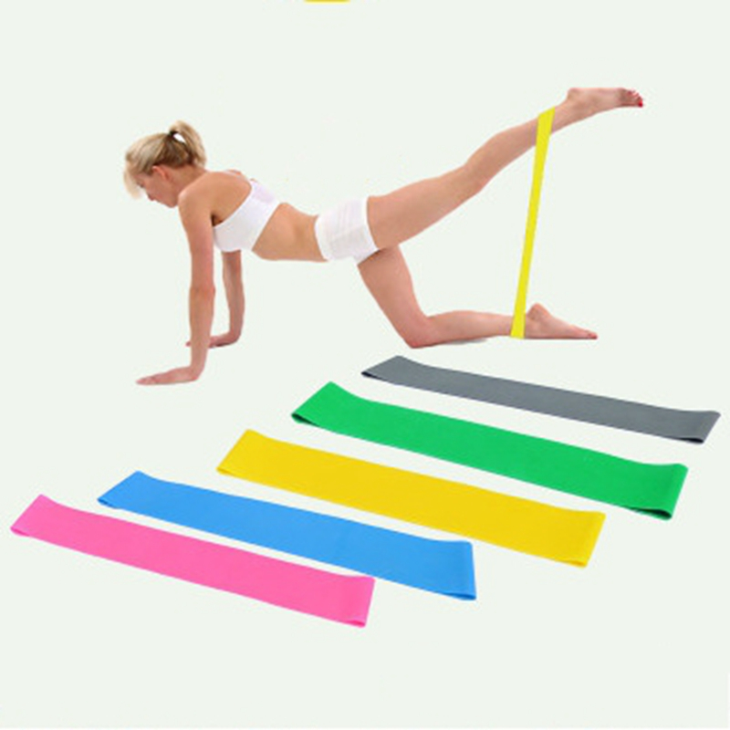 5PCS In 1 Set Sports Resistance Bands Fitness Equipment