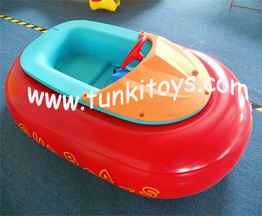 summer best-selling kids aqua inflatable electric water bumper boat for sale