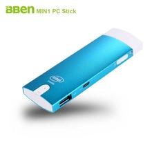 Bben MN1 безвентиляторный Мини-ПК stick Окна 10 и android двойной Системы Intel Z3735F четырехъядерных процессоров intel Bluetooth 4.0 Wi-Fi HDMI Мини-ПК