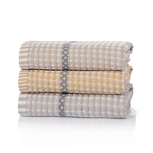 34x75cm 100% Cotton Towel Waffle Pattern Absorbent Washcloth Quick-Drying Hand Towel For Women Men недорого