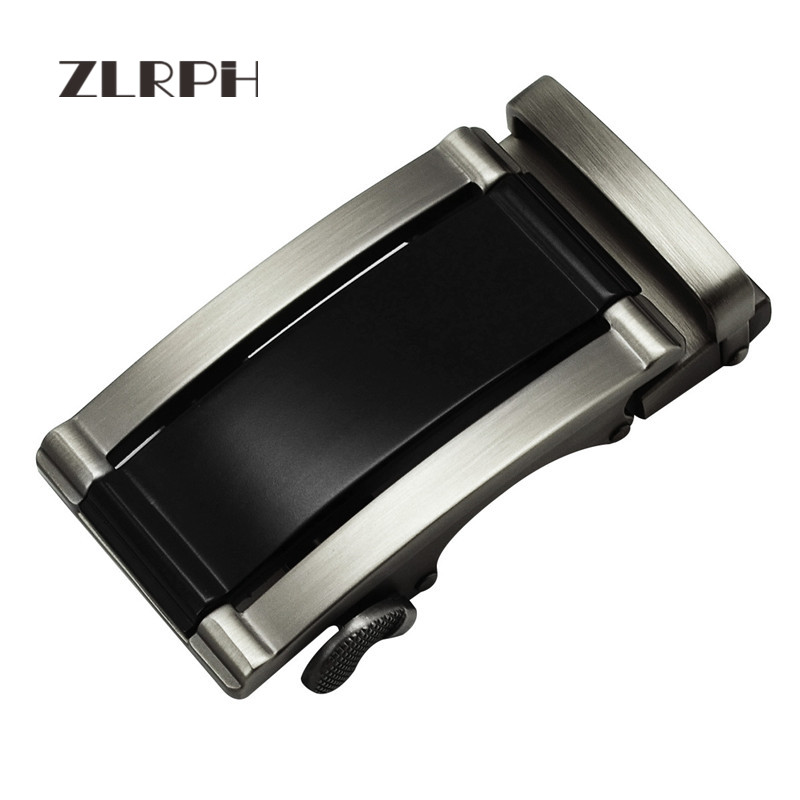ZLRPH Trendy Design Belt Buckle Head High-grade Polished Electroplating Alloy Automatic Buckle Belt Buckle