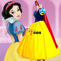 Halloween sexy costumes for women adult Carnival Custom made Snow White Princess Dress Cosplay Costumes birthday Party dresses