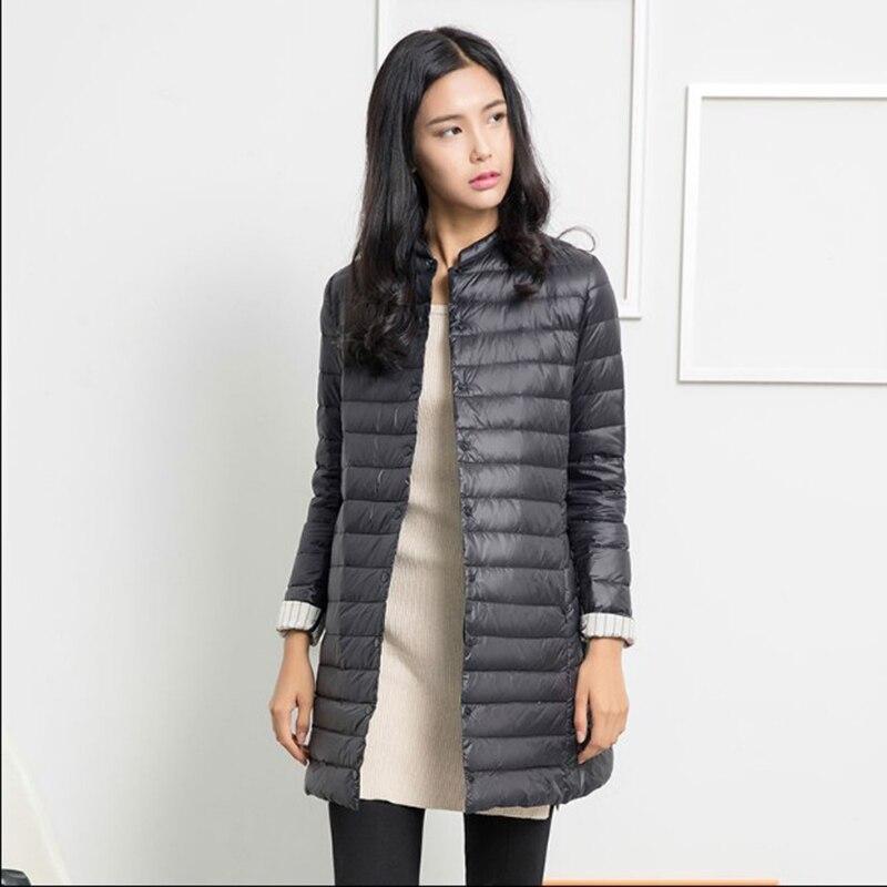 Thin Down Jacket Winter Coat Women Winter Coat Women Long Coats ...