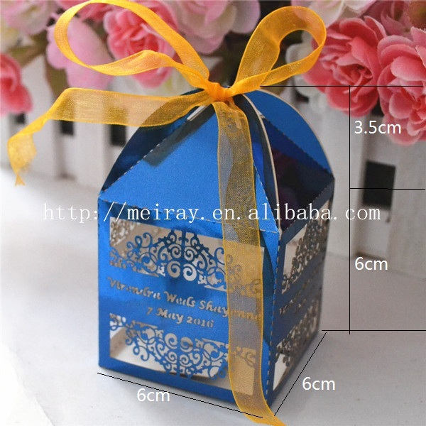 50pcs Laser Cut Best Indian Wedding Gifts For Guests Promotional