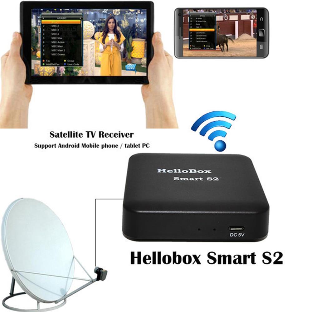 Hellobox Smart S2 Satellite Finder Satfinder Digital Bluetooth Support TV Play On Mobile Phone/Tablet TV Receiver DVB Player