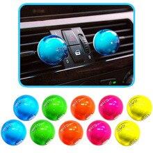 2pcs Car Perfume Air Freshener 5 Colors Car Styling Car Air Conditioner Vent Air Freshene Perfume