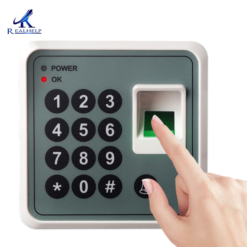 Fingerprint sensor Door Access Controller Biometric Scanner RFID card Reader Access machine with 10pcs key ID tagFingerprint sensor Door Access Controller Biometric Scanner RFID card Reader Access machine with 10pcs key ID tag