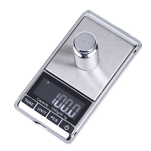 EWS Timetop 1000g x 0.1g LCD Mini electronic Digital Jewelry Weight Kitchen Pocket Balance GRAM Scale  цены
