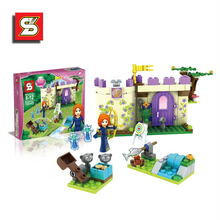 SY321 Princess Fairy Tales Series Forest House Minifigure Building Blocks Model Bricks Kits girls friends toys for kids