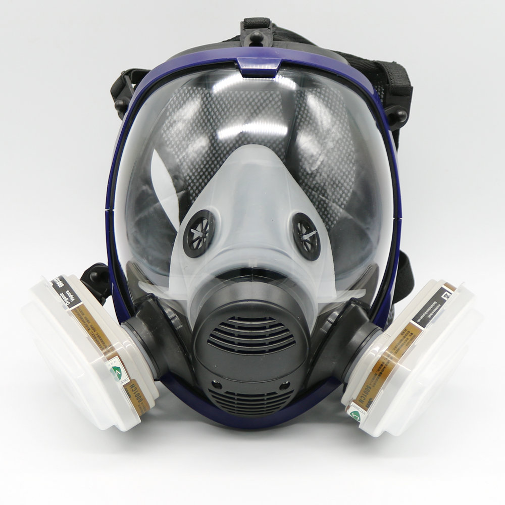 Event & Party 7 Piece Full Face Mask For 6800 Gas Mask Full Face Facepiece Respirator For Painting Spraying Free Shipping