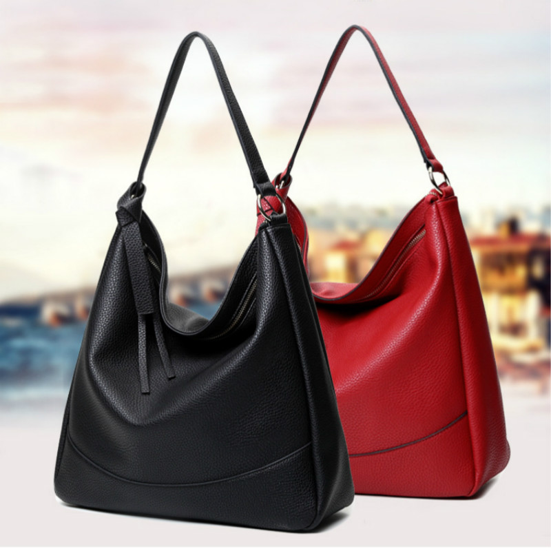 High Quality Pu Leather Women Bag Big Size Totes Famous Brand Handbags Luxury Designer Women Shoulder Bags Bolsas Feminina B0329